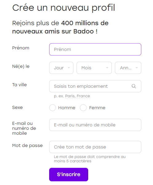 Annonce rencontre Tarn avec Badoo