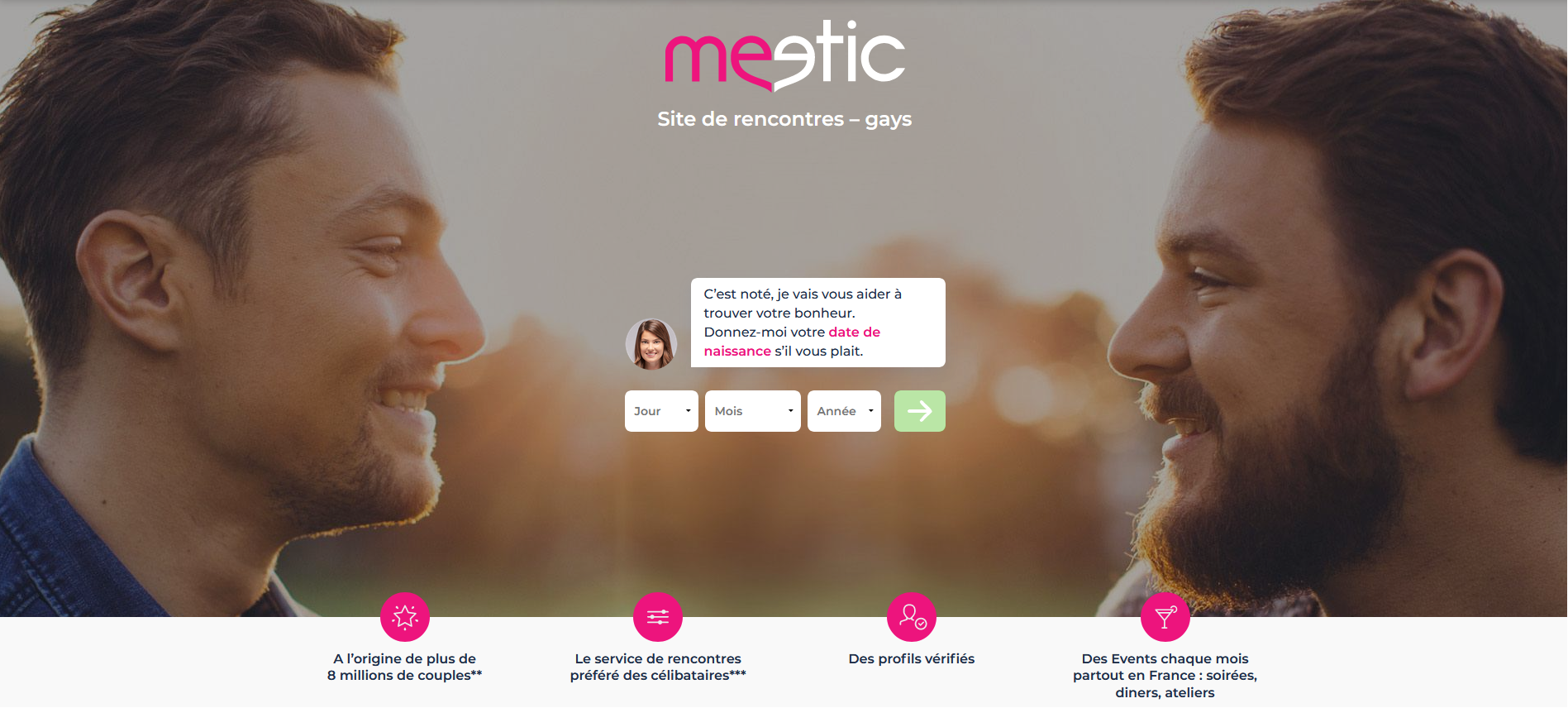 Meetic gay